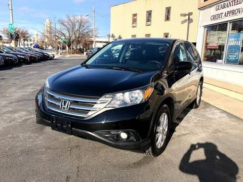2013 Honda CR-V for sale at ADAM AUTO AGENCY in Rensselaer NY