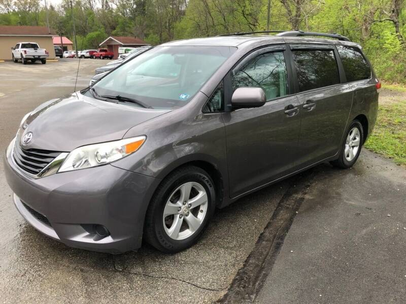 2009 Toyota Sienna for sale at Elite Motors in Uniontown PA