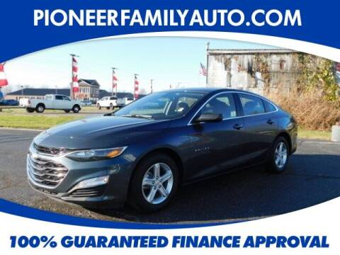 2020 Chevrolet Malibu for sale at Pioneer Family auto in Marietta OH