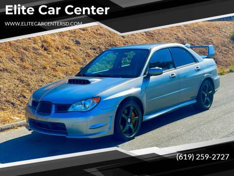 2007 Subaru Impreza for sale at Elite Car Center in Spring Valley CA