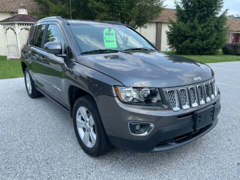 2015 Jeep Compass for sale at CROSSROADS AUTO SALES in West Chester PA