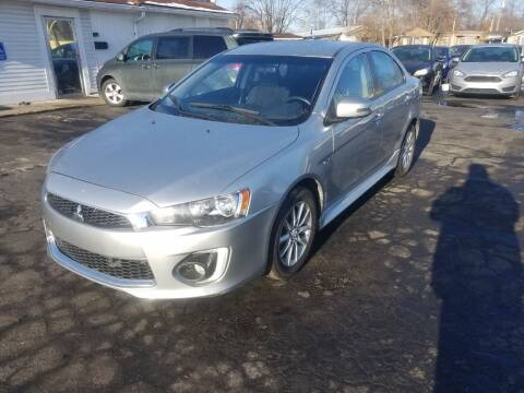 2016 Mitsubishi Lancer for sale at Nonstop Motors in Indianapolis IN