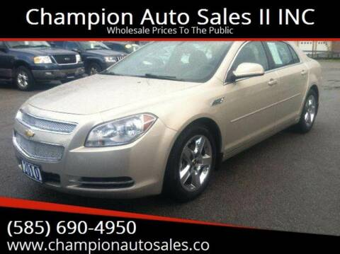 2010 Chevrolet Malibu for sale at Champion Auto Sales II INC in Rochester NY