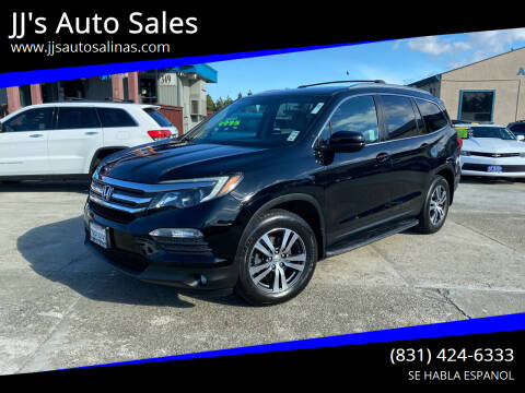 2016 Honda Pilot for sale at JJ's Auto Sales in Salinas CA