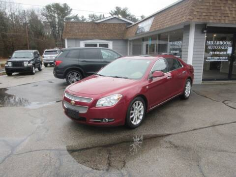 2008 Chevrolet Malibu for sale at Millbrook Auto Sales in Duxbury MA
