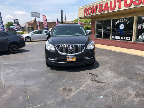 2014 Buick Enclave for sale at RON'S AUTO SALES INC in Cicero IL