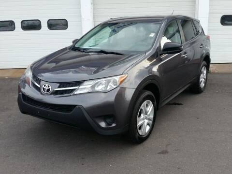 2013 Toyota RAV4 for sale at Action Automotive Inc in Berlin CT