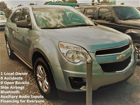 2014 Chevrolet Equinox for sale at PJ's Auto World Inc in Clearwater FL