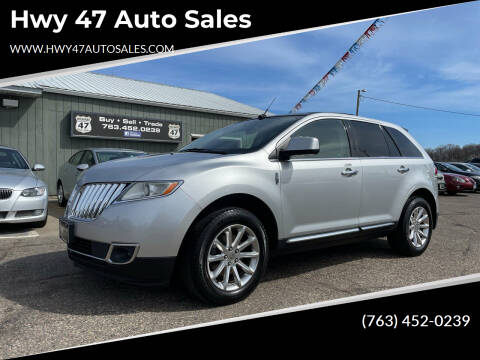2011 Lincoln MKX for sale at Hwy 47 Auto Sales in Saint Francis MN