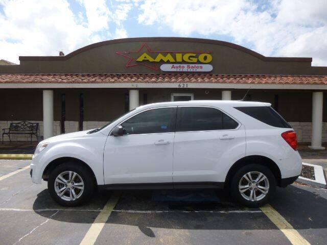2013 Chevrolet Equinox for sale at AMIGO AUTO SALES in Kingsville TX