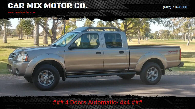 2004 Nissan Frontier for sale at CAR MIX MOTOR CO. in Phoenix AZ