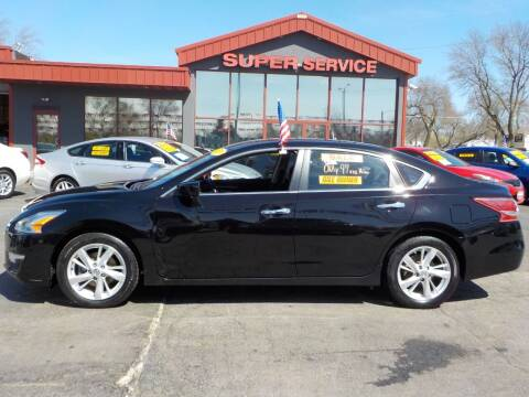 2013 Nissan Altima for sale at Super Service Used Cars in Milwaukee WI