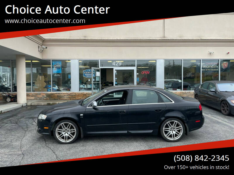 2007 Audi S4 for sale at Choice Auto Center in Shrewsbury MA