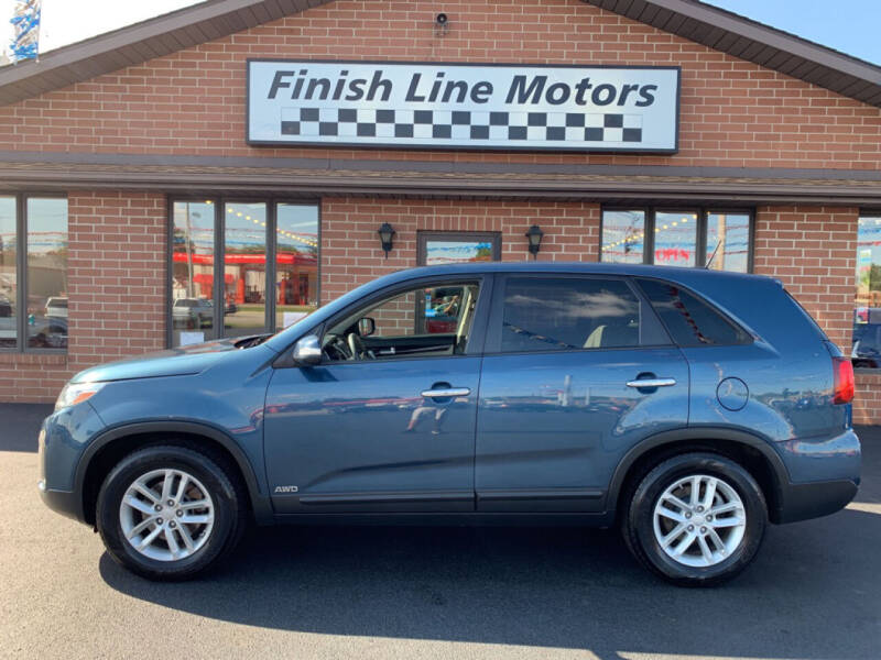 2015 Kia Sorento for sale at FINISHLINE MOTORS in Canton OH