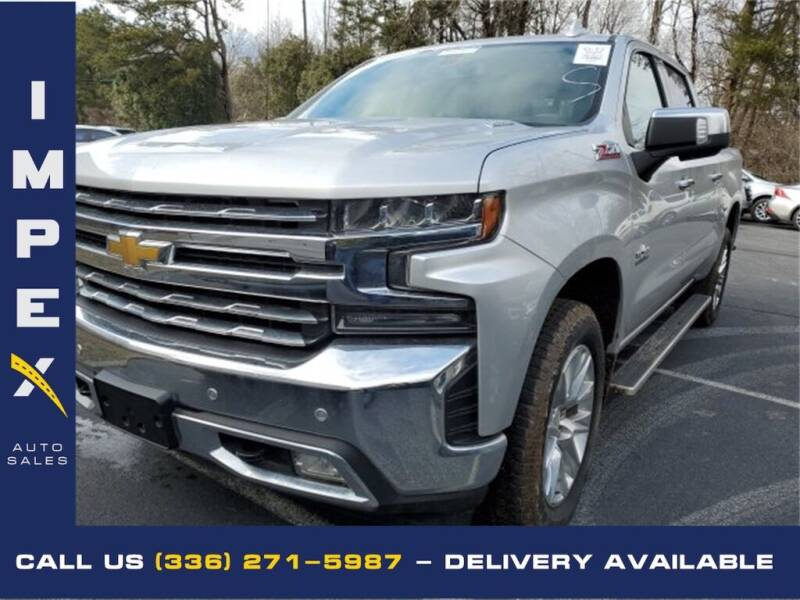 2020 Chevrolet Silverado 1500 for sale at Impex Auto Sales in Greensboro NC