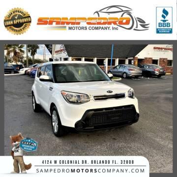 2014 Kia Soul for sale at SAMPEDRO MOTORS COMPANY INC in Orlando FL
