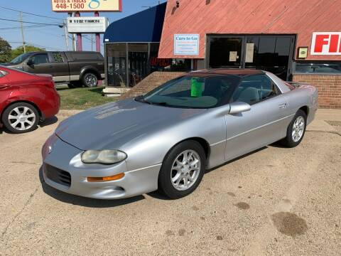 1998 Chevrolet Camaro for sale at Cars To Go in Lafayette IN