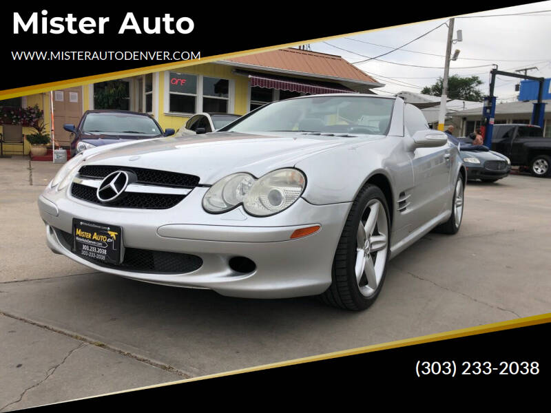 2005 Mercedes-Benz SL-Class for sale at Mister Auto in Lakewood CO