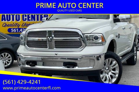 2017 RAM Ram Pickup 1500 for sale at PRIME AUTO CENTER in Palm Springs FL