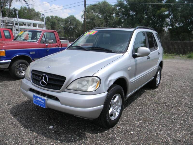 2000 Mercedes-Benz M-Class for sale at Cimino Auto Sales in Fountain CO