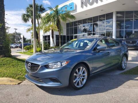 2017 Mazda MAZDA6 for sale at Mazda of North Miami in Miami FL