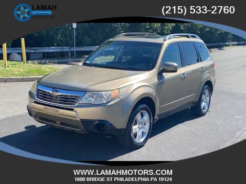 2009 Subaru Forester for sale at LAMAH MOTORS INC in Philadelphia PA