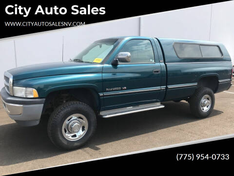 1994 Dodge Ram Pickup 2500 for sale at City Auto Sales in Sparks NV