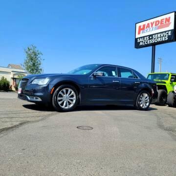 2016 Chrysler 300 for sale at Hayden Cars in Coeur D Alene ID