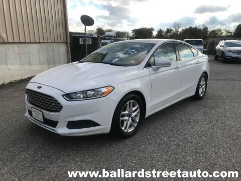 2015 Ford Fusion for sale at Ballard Street Auto in Saugus MA