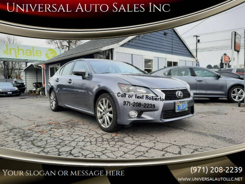 2015 Lexus GS 350 for sale at Universal Auto Sales Inc in Salem OR