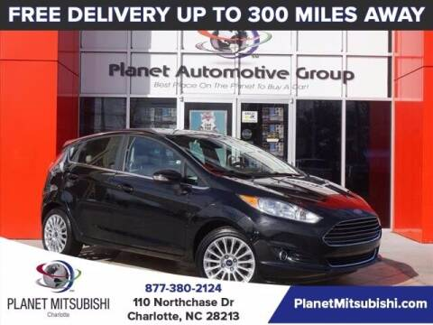 2016 Ford Fiesta for sale at Planet Automotive Group in Charlotte NC