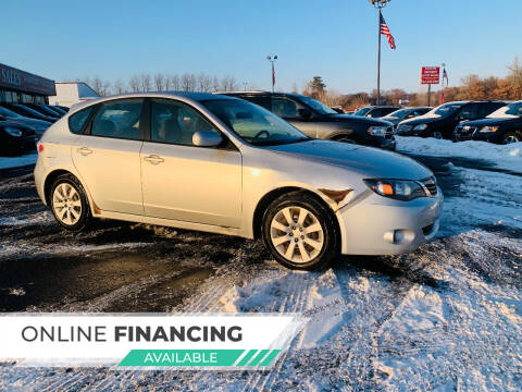 2009 Subaru Impreza for sale at LUXURY IMPORTS AUTO SALES INC in North Branch MN