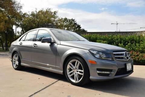 2013 Mercedes-Benz C-Class for sale at European Motor Cars LTD in Fort Worth TX
