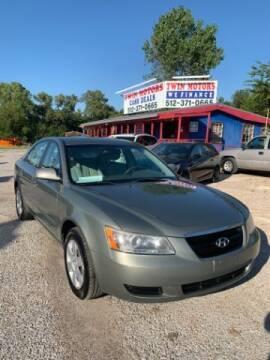 2008 Hyundai Sonata for sale at Twin Motors in Austin TX