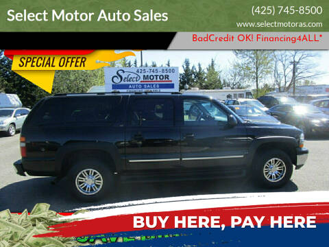 2003 Chevrolet Suburban for sale at Select Motor Auto Sales in Lynnwood WA