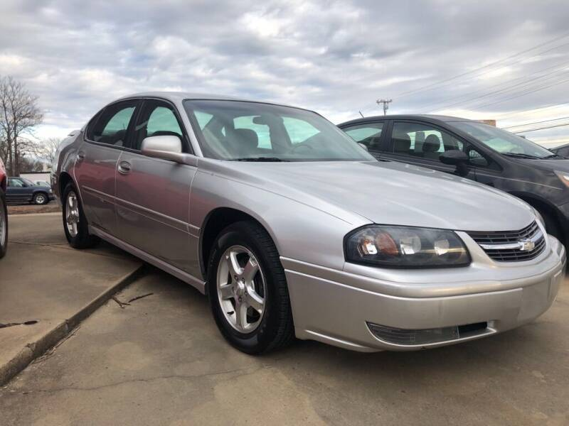 2005 Chevrolet Impala for sale at Wolff Auto Sales in Clarksville TN