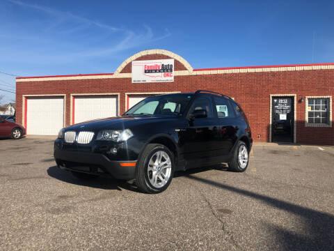 2007 BMW X3 for sale at Family Auto Finance OKC LLC in Oklahoma City OK