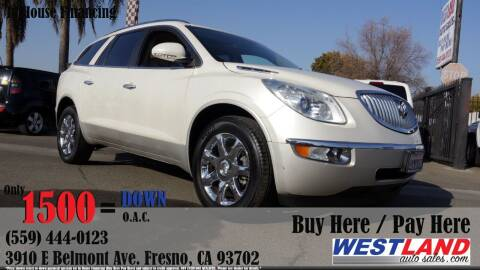 2010 Buick Enclave for sale at Westland Auto Sales in Fresno CA