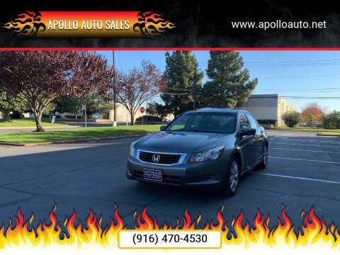 2009 Honda Accord for sale at APOLLO AUTO SALES in Sacramento CA