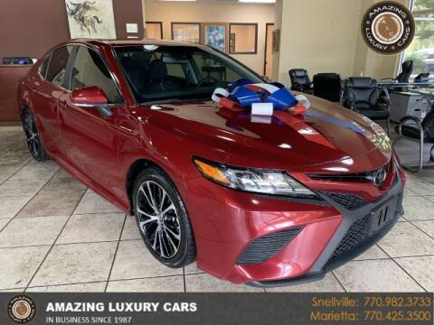2018 Toyota Camry for sale at Amazing Luxury Cars in Snellville GA