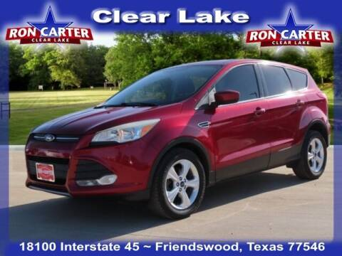 2015 Ford Escape for sale at Ron Carter  Clear Lake Used Cars in Houston TX