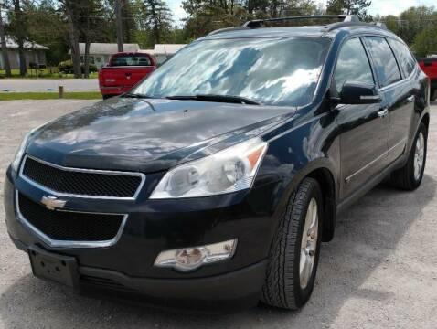 2010 Chevrolet Traverse for sale at Hilltop Auto in Prescott MI