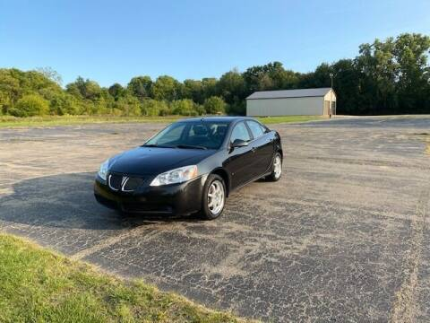 2008 Pontiac G6 for sale at Caruzin Motors in Flint MI