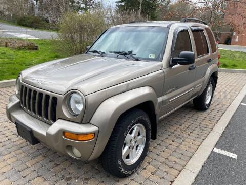 2003 Jeep Liberty for sale at DMV Automotive in Falls Church VA