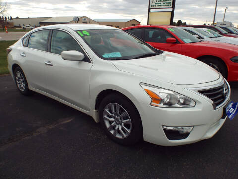 2014 Nissan Altima for sale at G & K Supreme in Canton SD