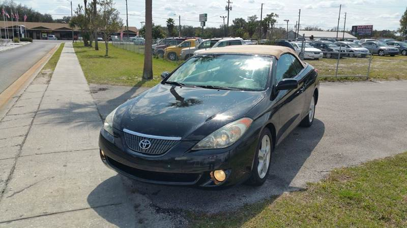 2004 Toyota Camry Solara for sale at GOLDEN GATE AUTOMOTIVE,LLC in Zephyrhills FL