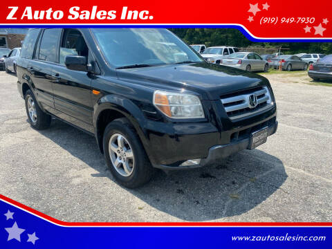 2008 Honda Pilot for sale at Z Auto Sales Inc. in Rocky Mount NC