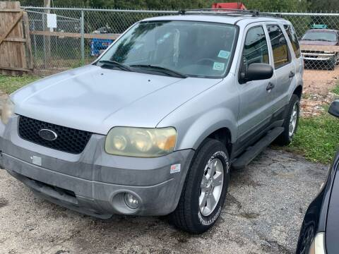 2005 Ford Escape for sale at EXECUTIVE CAR SALES LLC in North Fort Myers FL