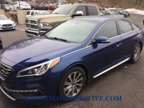 2016 Hyundai Sonata for sale at J & M Automotive in Naugatuck CT