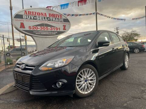 2014 Ford Focus for sale at Arizona Drive LLC in Tucson AZ
